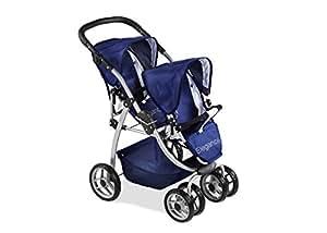 Arias 73 x 47 x 80 cm Elegance Doll Twin Chair Stroller