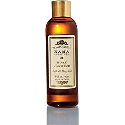 Kama Ayurveda Rose and Jasmine Bath and Body Oil, 100ml