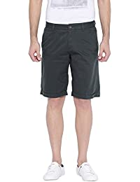 Showoff Men's Printed Casual Slim Fit Shorts - B01LZKUQ3H
