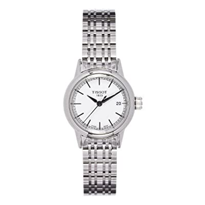 Tissot T085.210.11.011.00 - Reloj para mujeres, correa de acero inoxidable color plateado de Tissot
