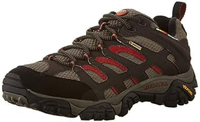 Merrell - Moab - Chaussure de randonnée - Basse - Homme - Marron (Dark Chocolate) - 41 EU