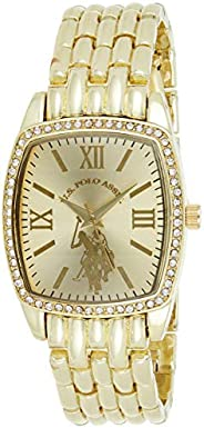 U.S. Polo Assn. USC40234 Women's Quartz Watch, Analog Display and Stainless Steel S