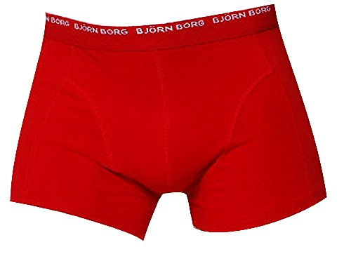 BJÖRN BORG Herren Boxershorts NOOS Basic 3 Pack Schwarz