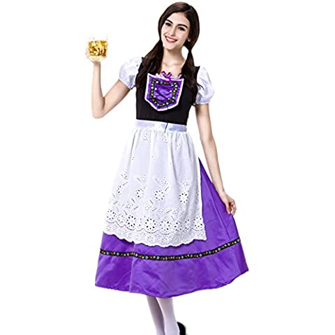 Molie Oktoberfest bávaro Halloween disfraz de lujo de mujer ropa de Cosplay