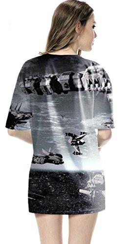 Thenice Damen T-Shirt Mehrfarbig mehrfarbig Medium ON.1