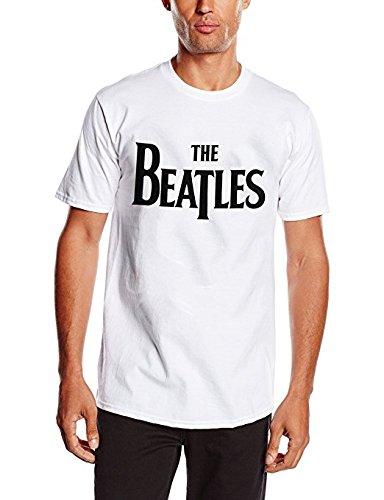 Unbekannt Herren T-Shirt Drop T, Weiß (White), L (T-shirt Drop Herren)