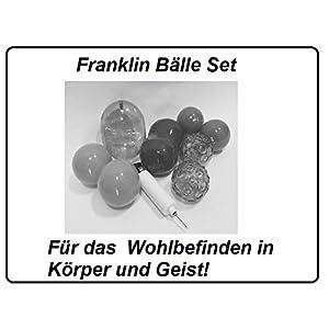 Franklin Bälle Set – Für das Wohlbefinden in Körper und Geist