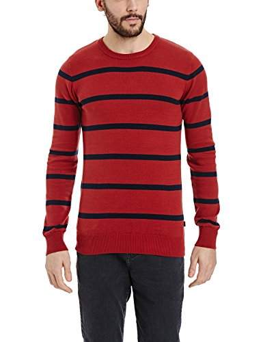 Bench Herren Pullover Oeuvre Rot (Red Brown BR126)