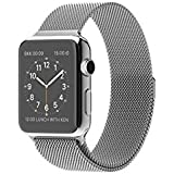 Apple Watch - relojes inteligentes (Acero inoxidable, Rectangular, Ión de litio, Acero inoxidable, Acero inoxidable, Acero inoxidable)