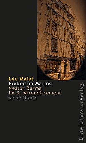 Image of Fieber im Marais: Nestor Burma im 3. Arrondissement (Série Noire)