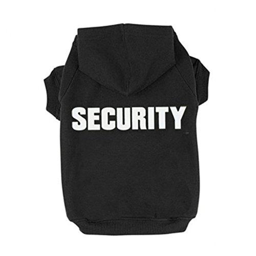 jieya Kleine Hunde Hoodie Pet Sicherheit Druck Sweatshirt Pullover Mantel für Puppy