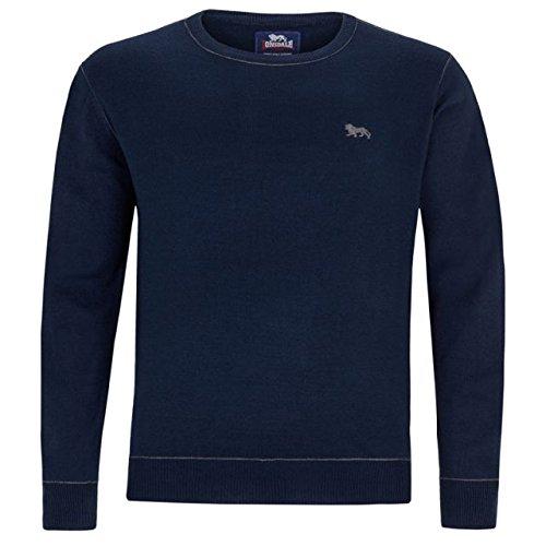 Lonsdale -  Maglione  - Basic - Uomo Blu blu