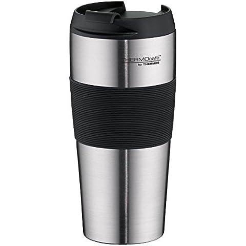 térmica Café by Thermos 4056.205.040–Vaso isotérmico (Therm OPro, 0,4l, acero inoxidable mate