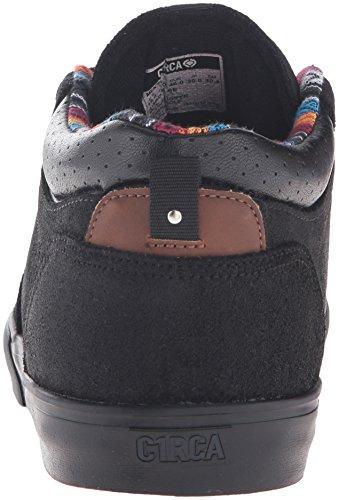C1RCA Lakota Se, Baskets Basses Mixte Adulte Noir - Schwarz (Black Charcoal)