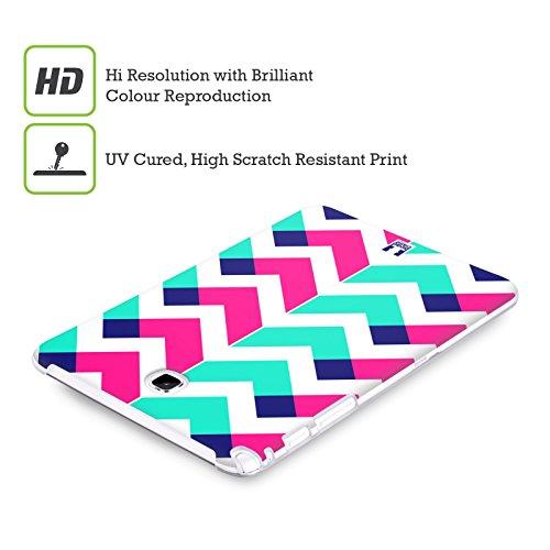 Head Case Designs Gris Camouflage Géométrique Étui Coque en Gel molle pour Apple iPhone 5 / 5s / SE Rose Et Sarcelle