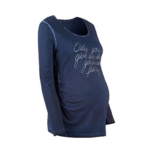 BABY-WALZ Le T-shirt de grossesse T-shirt de grossesse T-shirt de grossesse Bleu