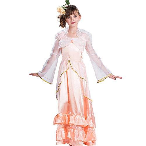 GUAN Halloween Weihnachten Forest Fairy Princess Dress (Für Erwachsene Pink Kostüm Schlafanzug)