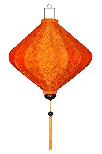 Asiatische Lampen Diamant Orange by Lampionsenzo
