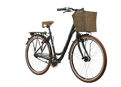 Ortler Rembrandt Damen schwarz matt Rahmengröße 45 cm 2016 Cityrad