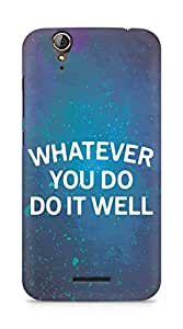 AMEZ whatever you do do it welly Back Cover For Acer Z630S
