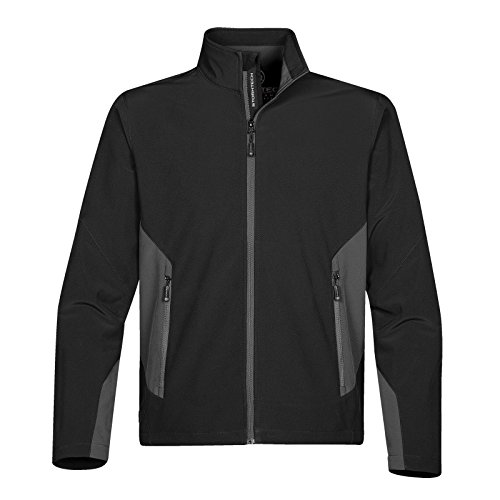 Stormtech Pulse Herren Softshell Jacke - 3 Farben - Sml - 2XL Black/ Granite
