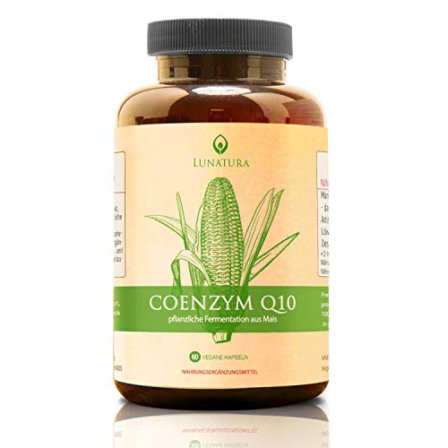 Premium Q10 [Hochdosiert mit 250mg] » Mit Selen und Thiamin « Natürliches Coenzym (Mais) - Coenzyme q 10 Tabletten in mg - Kaneka Ubiquinon/Ubiquinol - Co Enzym co-q10 Kapseln (vegan)