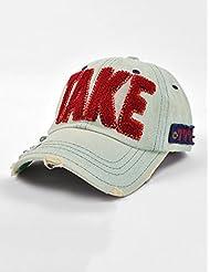 Summer Sports de plein air strass Baseball Cap Sport Cap Chapeau de cowboy fille (2 Styles, 2 couleurs disponibles)