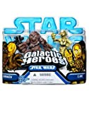 Star Wars: Clone Wars Galactic Heroes > Chewbacca & C-3PO Action Figure 2-Pack
