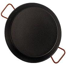 Garcima 5020510 - Paellera valenciana antiadherente para 8 personas 38 cm