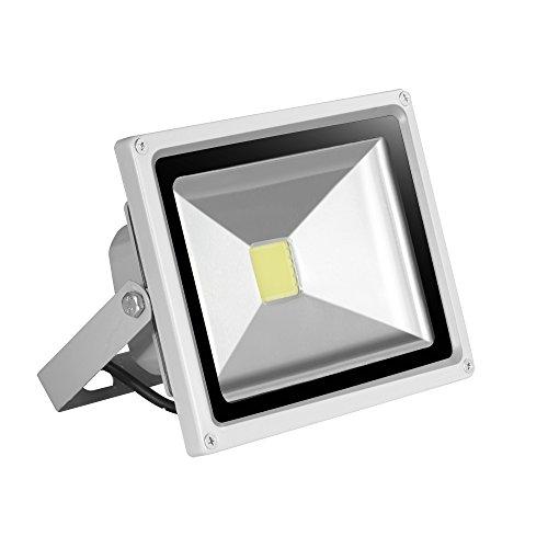 Preisvergleich Produktbild HimanJIe LED 20W Wasserdicht IP65 Außen Fluter Flutlicht Flutlichtstrahler Strahler Außenstrahler Scheinwerfer Gartenstrahler Warmweiß Arbeitsleuchte Baustrahler