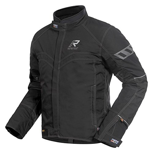 Preisvergleich Produktbild RUKKA Motorradjacke Herren Gore-Tex GTX Jacke SIMOT Tourenjacke schwarz-silber Größe: 54