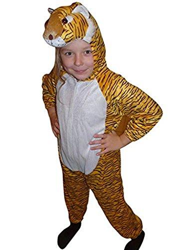 Tiger- Kostüm-e Kind-er AN28 Gr. 128-134, Kat. 3, Achtung: B-Ware Artikel. Bitte Artikelmerkmale lesen! Tier-e Mädchen Junge-n Kleinkind-er Faschings- Karnevals- Fasnachts- Geburtstags- Geschenk-e