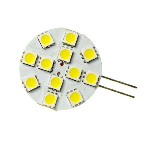 1,2W G4 LED Weiß 6000K - mit 12 SMD 5050 LED Chips - 90lm