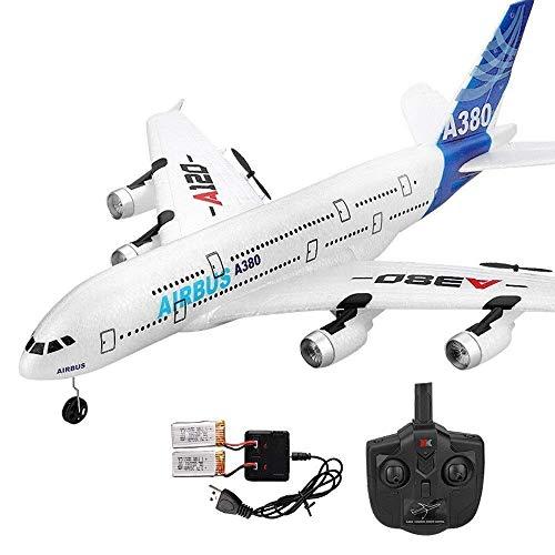 Modellfahrzeuge USB-Ladeflugzeugkabel Spielzeug Mit LED-Stabilisierungssystem Innen-/Außenbereich 3,5-Kanal-Steuerung Hubschrauber Flugzeug-Fernbedienung Flugzeug-Kanal Eingebaute Gyro-Antikollisions-