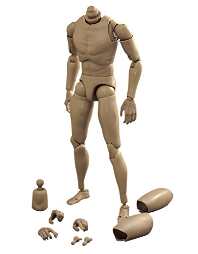 1 Man Body Toy Action Figure: 6