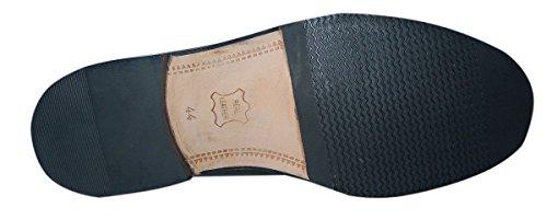 WESTON wELLINGTON chaussures pour homme en cuir de haute qualité noir Noir - Noir