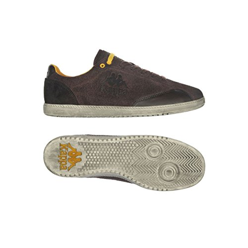 Sneakers - Authentic 0125 Brown-Yellow