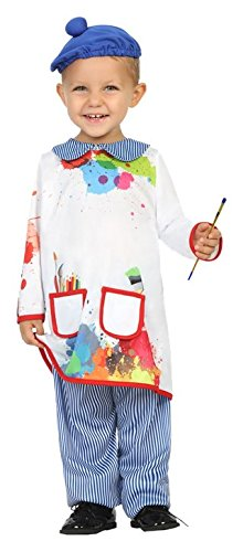 Atosa 27842–Pintor, Baby Disfraz, 6–12meses