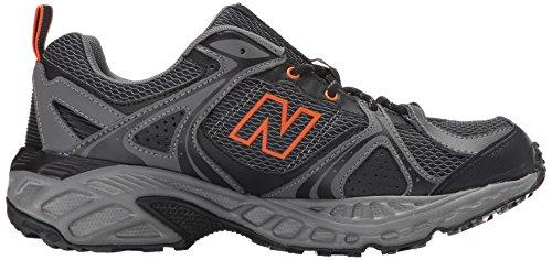 New Balance Men's 481v2 Trail Running Shoe Black / Orange