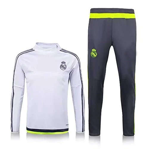 20162017Real Madrid CF Training Fußball Soccer Sets Jersey Shirts in weiß xl weiß