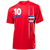 COSTA RICA FANSHIRT - Herren T-Shirt Gr.S bis XXL - Golebros