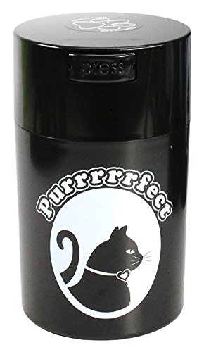 pawvac-6-ounce-vacuum-sealed-pet-food-storage-container-black-cap-body-white-cat