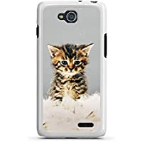 LG L90 Hülle Case Handyhülle Kitten Baby Katze Kitty