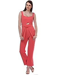becda8ad681 Amazon.in  3XL - Jumpsuits   Dresses   Jumpsuits  Clothing   Accessories
