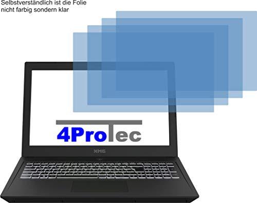 4X ANTIREFLEX matt Schutzfolie für XMG CORE 15 L17 Bildschirmschutzfolie Displayschutzfolie Schutzhülle Bildschirmschutz Bildschirmfolie Folie
