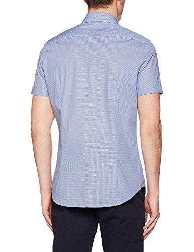 Seidensticker Camicia Uomo Blu (Blau 17)