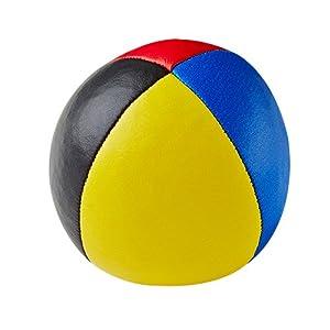 Henrys J05010-B44 - Bolsas de Frijol de Primera Calidad, diámetro 67 mm, Negro / Rojo / Azul / Amarillo
