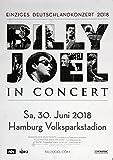 Billy Joel, Hamburg, 2018, Original - Konzert - Plakat -