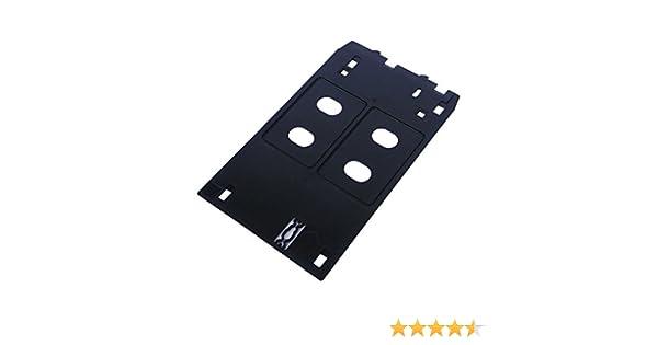 syoon PVC ID-Karte Tablett Kunststoff-Tablett PVC Karte Tablett Druck f/ür Tintenstrahldrucker Canon iP4600/4700/4760/4820/4850/4880/MP630/640/MG5250/8150
