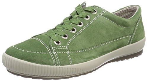 Legero Tanaro, Damen Low-Top Sneaker, Grün (Agave), 41 EU (7 UK)